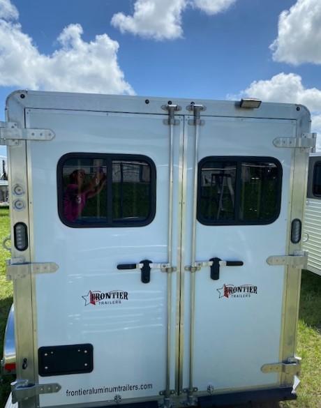2021 Frontier Strider 3H BP Horse Trailer
