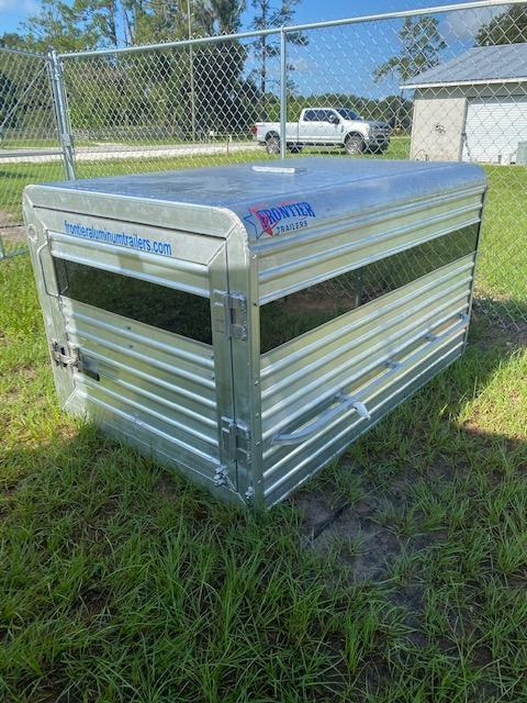 2021 Frontier Livestock Truck Topper Truck Boxes (Livestock and Dog)
