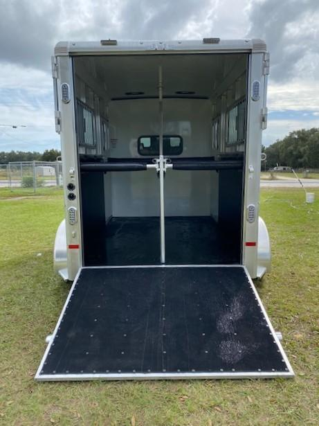 2021 Sundowner Trailers Charter 2H Straight Load Horse Trailer