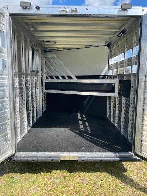 2021 Frontier Colt 2H Stock Combo Horse Trailer