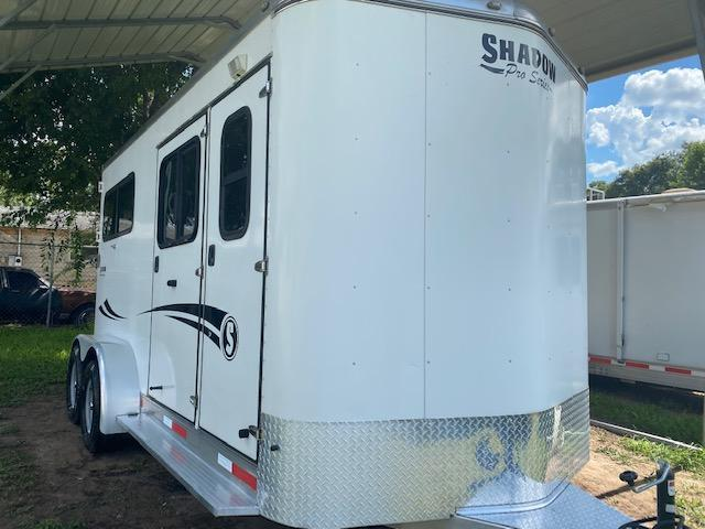 2016 Shadow Trailers Pro Series 2H Straight Load Horse Trailer