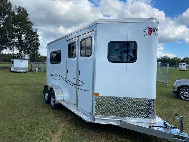 2021 Frontier Ambassador 2H Straight Load Horse Trailer