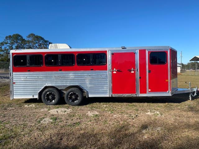 2021 Frontier 8X20 DDFW Livestock Trailer