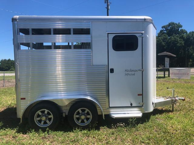 2021 Sundowner Trailers Stockman Special 2H BP Horse Trailer