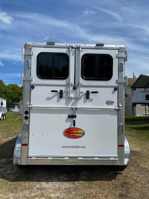 2021 Sundowner Trailers Charter 2H Straight Load Horse Trailer