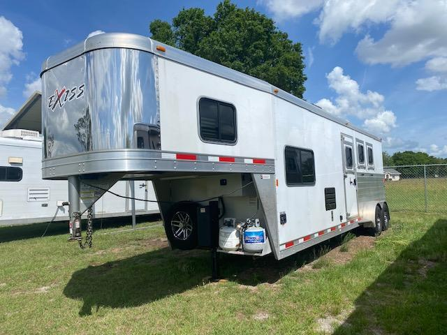 2017 Exiss Escape 6310 LQ Horse Trailer w/ Rear Ramp
