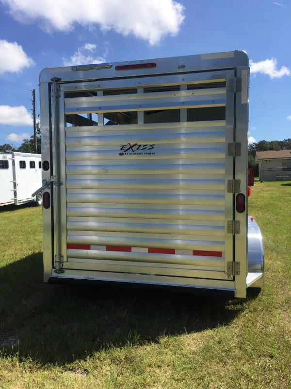 2020 Exiss Express 2H CX Horse Trailer