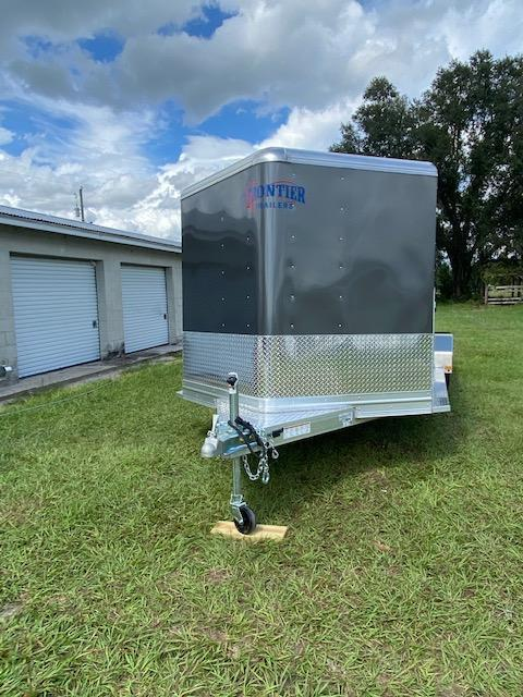 2021 Frontier 7x16 6 Pen Low Pro Livestock AC & INSULATED Livestock Trailer