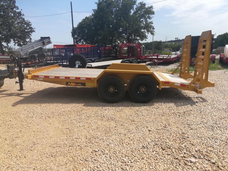 2019 Midsota Nova Series ET8216 Equipment Trailer