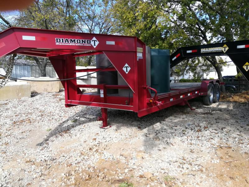 "2019 Diamond T Trailers 83"" X 22' Tilt Equipment Trailer"