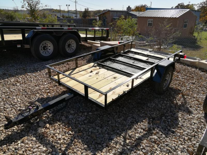 2021 Diamond T Trailers SA-4.5 X 9 Mini Utility Trailer