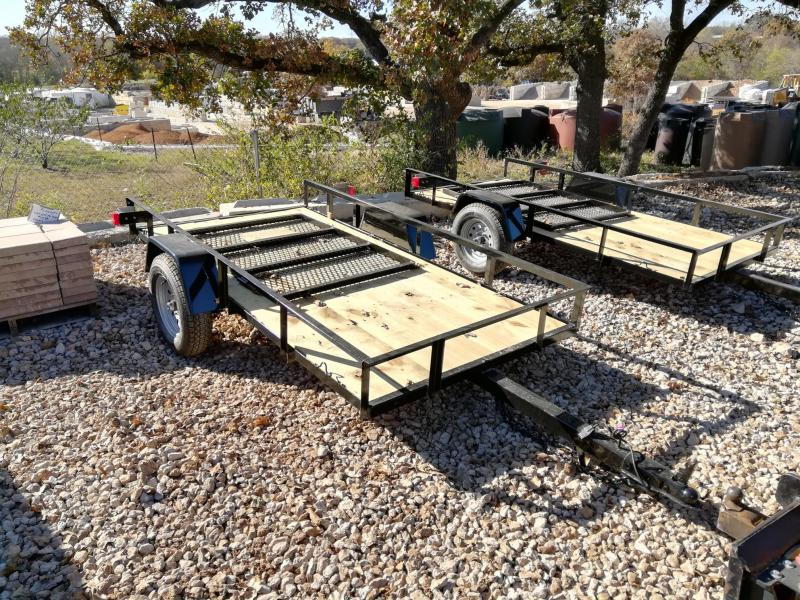 2021 Diamond T Trailers SA-4.5 X 9 Mini Utility Trailer