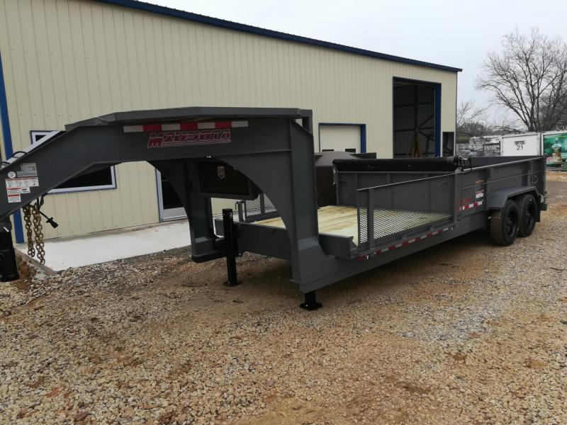 2021 Midsota FFRD-20 Dump Trailer / Flat Bed Combo