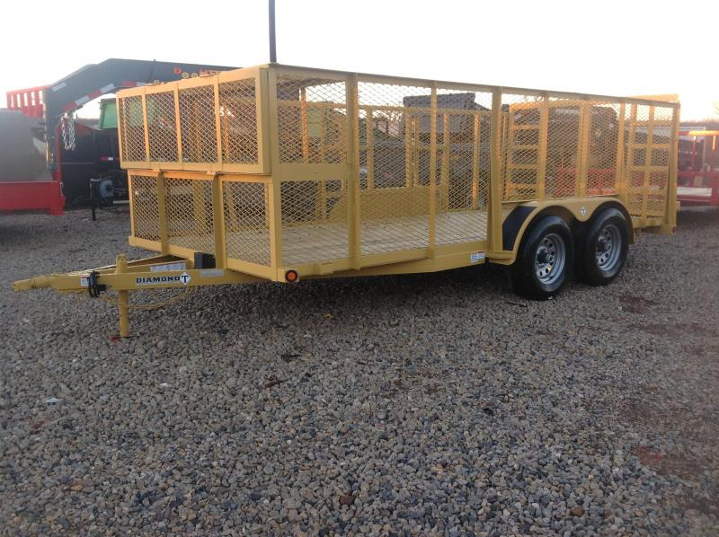 2019 Diamond T Trailers Heavy Utility Landscape Utility Trailer