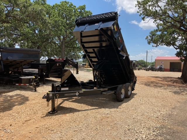 "2021 Diamond T Trailers DMP-140 83"" x 14' Dump Trailer"