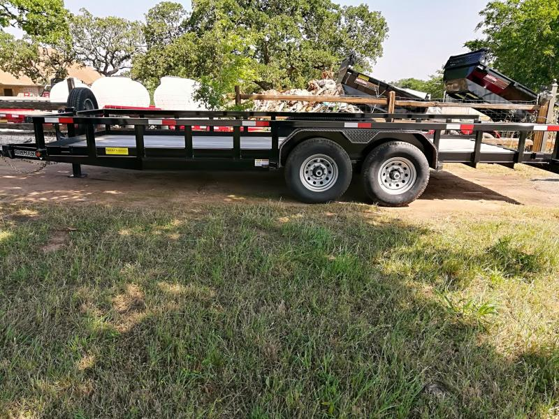 2020 Diamond T Trailers Super Duty Tandem Axle Utility Trailer