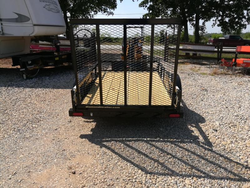 2020 Diamond T Trailers Single Axle Utility Utility Trailer