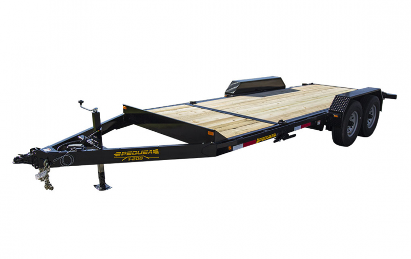 2021 PEQUEA T-200 Equipment Trailer
