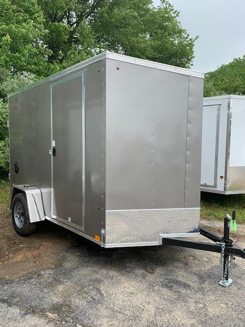 2021 Look Trailers 6X12 Enclosed Cargo Trailer w/ RAMP - Pewter