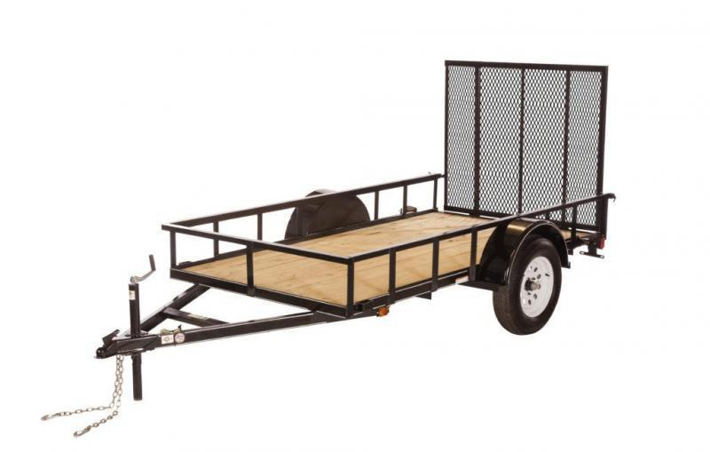 2021 CARRY-ON 5'X8' UTILITY TRAILER