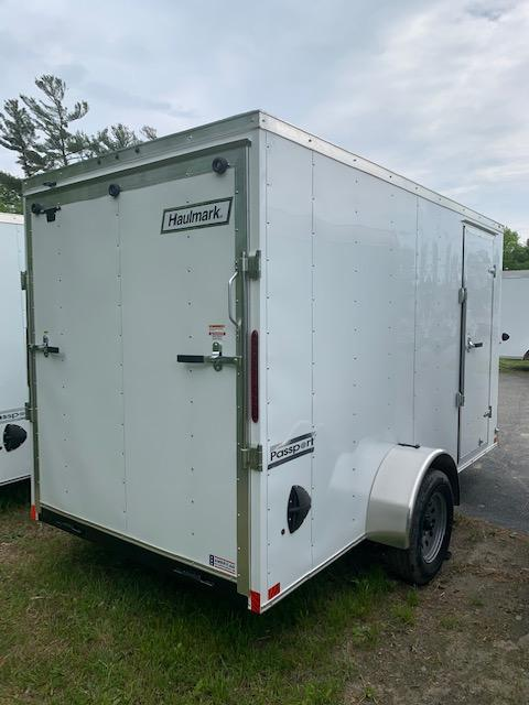 2021 Haulmark PASSPORT 6X12 Enclosed Cargo Trailer w/ RAMP - WHITE