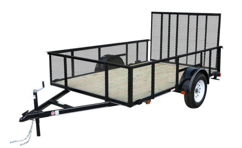 2021 Carry-On 6'X10' With High Sides Utility Trailer