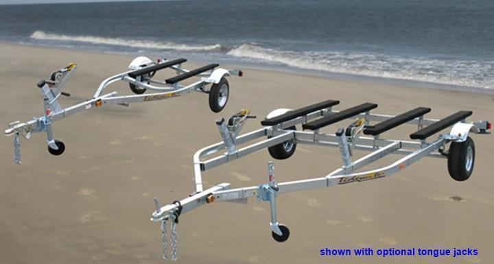 2021 Tidewater Trailers TMV-1200L Jet Ski PWC Trailer