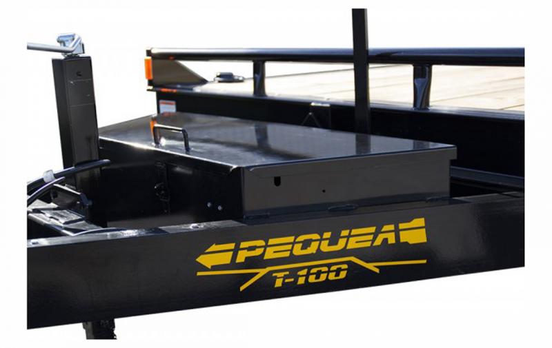2021 Pequea T-100 FULL TILT Equipment Trailer (14K)