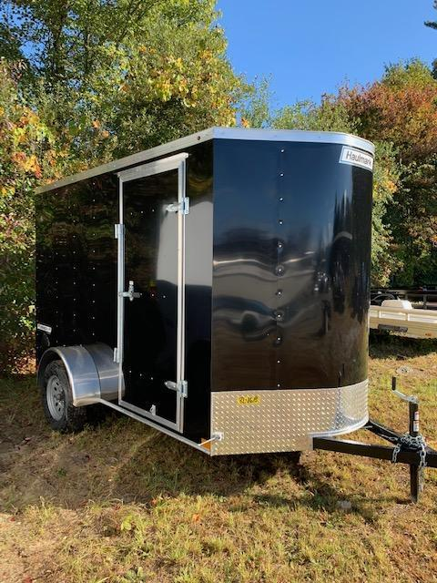 2020 Haulmark Passport Dlx 6X10 Enclosed Cargo Trailer w/ RAMP - BLACK