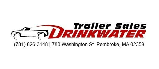 2021 Look Trailers 6X10 Enclosed Cargo Trailer w/ RAMP - White