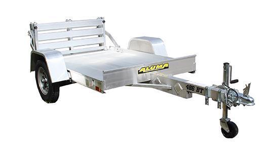 2022 ALUMA 4'X6' UTILITY TRAILER With Bi-Fold Ramp