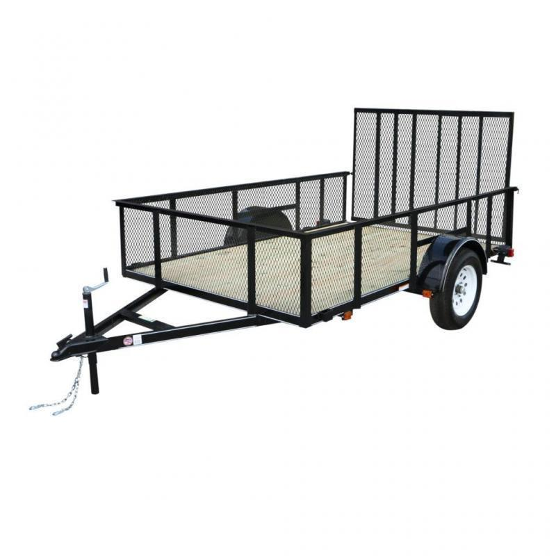 2021 CARRY-ON 5'X8' With High Sides UTILITY TRAILER