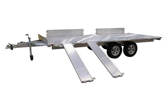"2022 ALUMA 7'4""X16'6"" 4 PLACE ATV Trailer - ON ORDER/DUE MAY-JUNE"