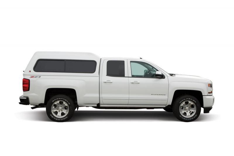 Leer 180 Mid-Rise Fiberglass Truck Cap