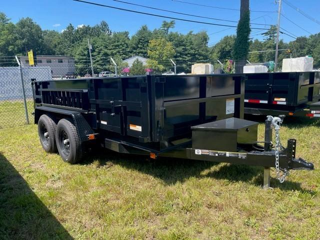 2021 CARRY-ON 6'X12' DUMP TRAILER With 2' Tall Sides