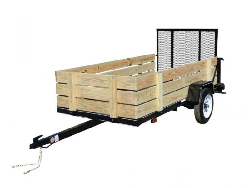 2021 Carry-On 5X8-WOODY Utility Trailer
