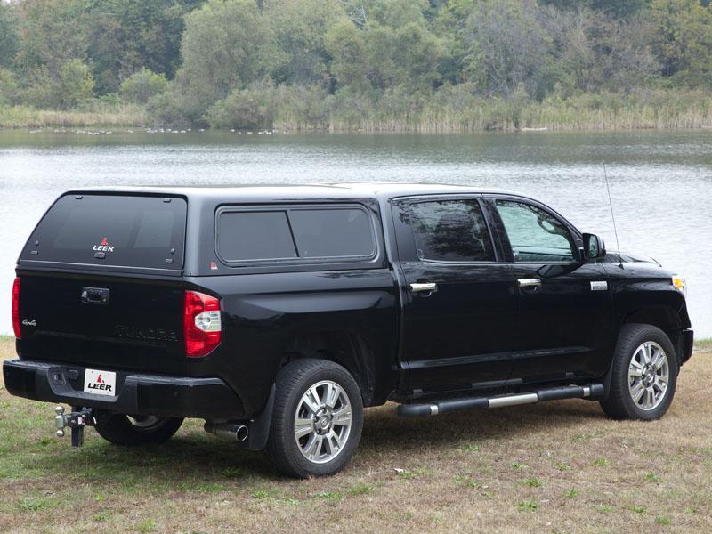 Leer 100XR Cab-High Fiberglass Truck Cap