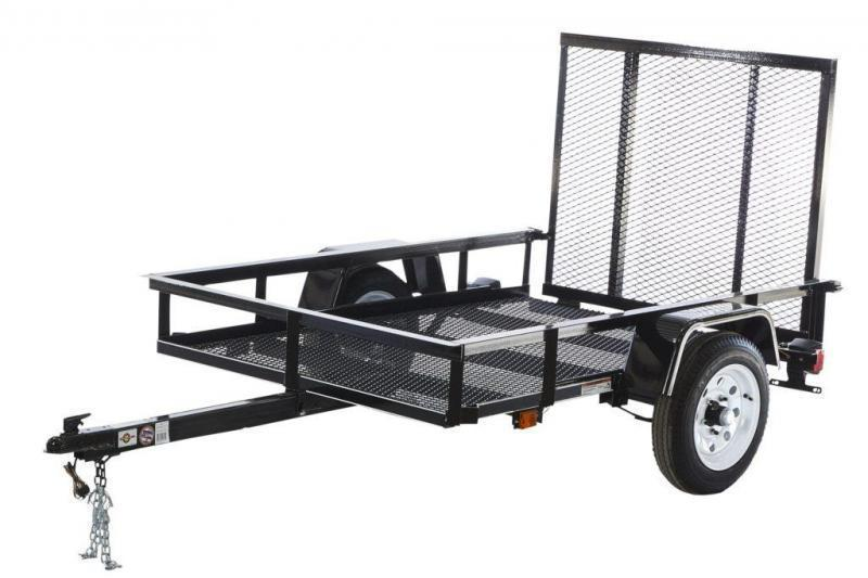 2021 CARRY-ON 4'X6' UTILITY TRAILER