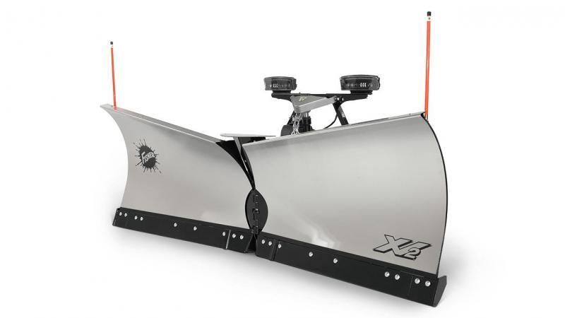 """2020 Fisher Engineering 9'6"""" XV2 Stainless Snow Plow"""