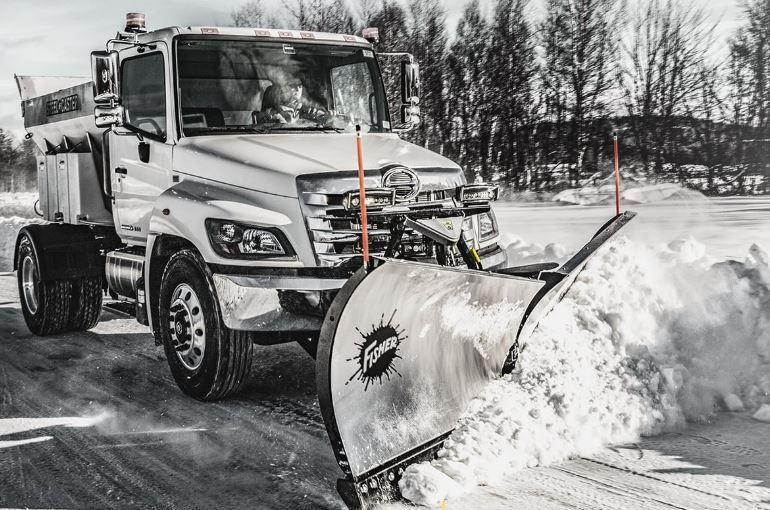 "2020 Fisher Engineering 9'6"" XV2 Stainless Snow Plow"