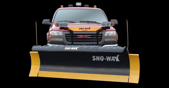 "2020 Sno-Way 29HD 7'6"" Snow Plow w/ Down Pressure"