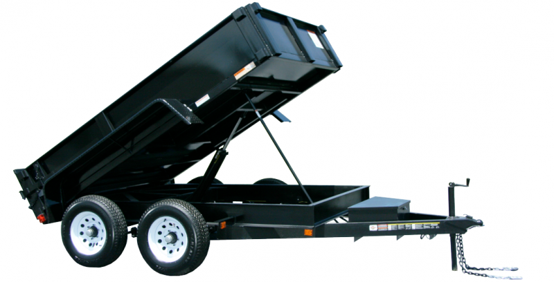 2021 Carry-On 6'X10' DUMP TRAILER With 2' Tall Sides