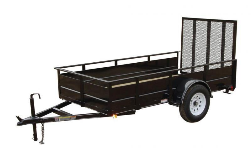 2021 Carry-On 5'X8' Utility Trailer W/Solid Sides
