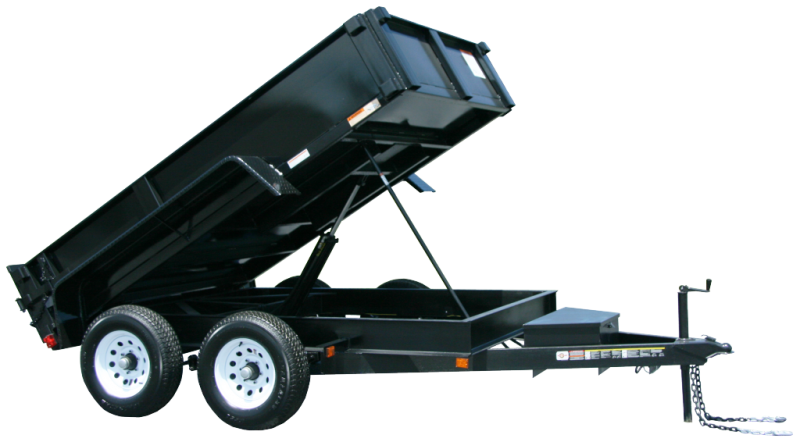 2021 CARRY-ON 6'X12' DUMP TRAILER