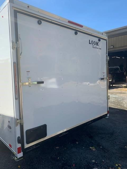 2021 Look Trailers 8.5'X16' Enclosed Cargo Trailer W/ RAMP - WHITE