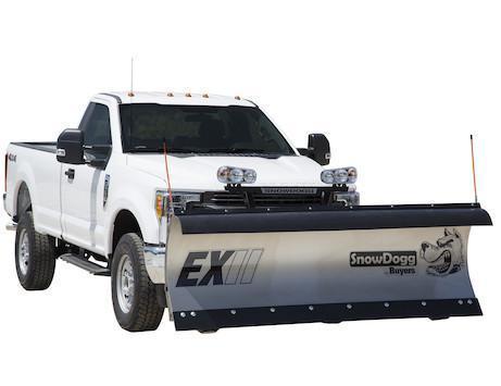 2020 SnowDogg EX90 II Stainless Snow Plow