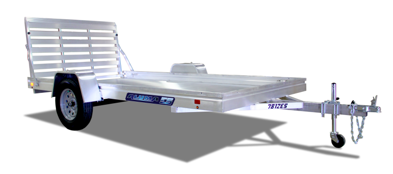 "2021 ALUMA 6'6""X14' ES-A UTILITY TRAILER"