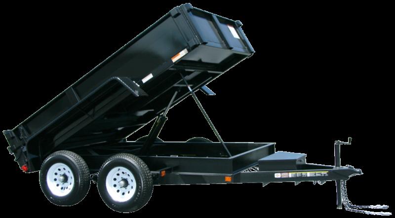 2021 CARRY-ON 6'X12' DUMP TRAILER