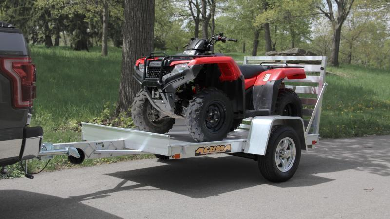 "2022 ALUMA 4'6""X8' UTILITY TRAILER With Bi-Fold Ramp"