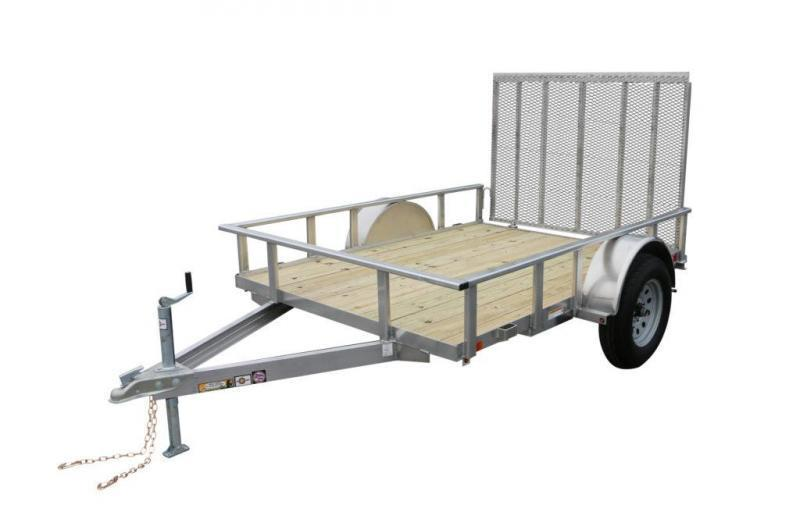 2021 CARRY-ON 6'X10' AGW Aluminum  UTILITY TRAILER